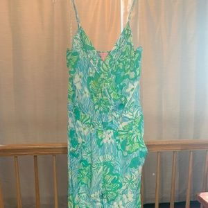Lilly Pulitzer Melba Jumpsuit in Lagoon Green